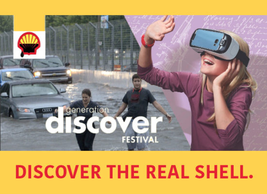 SHELL greenwashing meme FLOOD