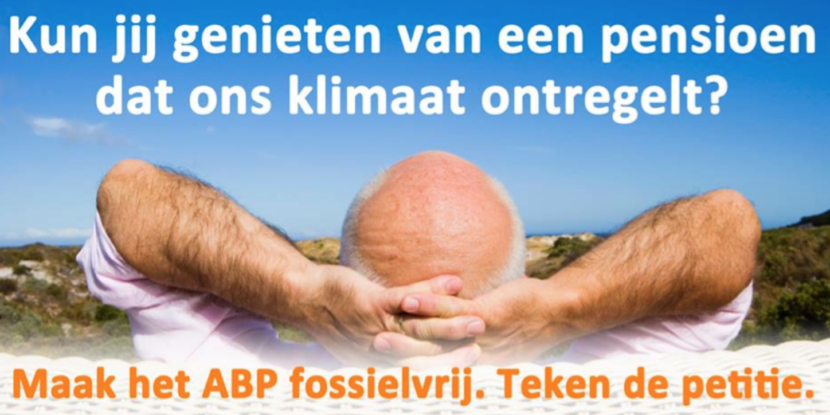 Maak het ABP fossielvrij