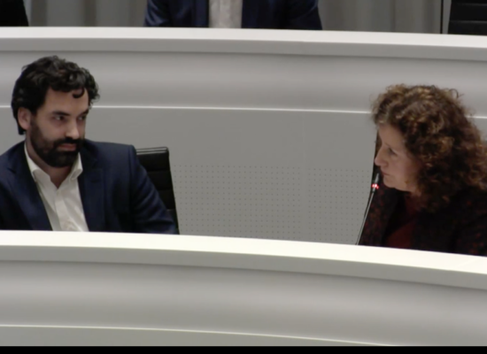Wethouder Ingrid van Engelshoven (D66)