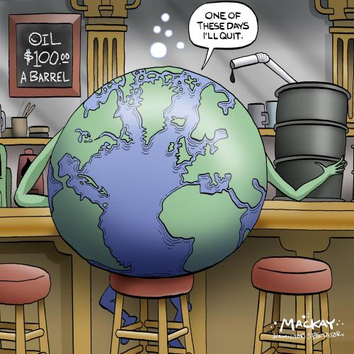 the worlds addiction to oil