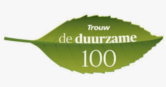 Den Haag Fossielvrij in de Trouw Duurzame 100